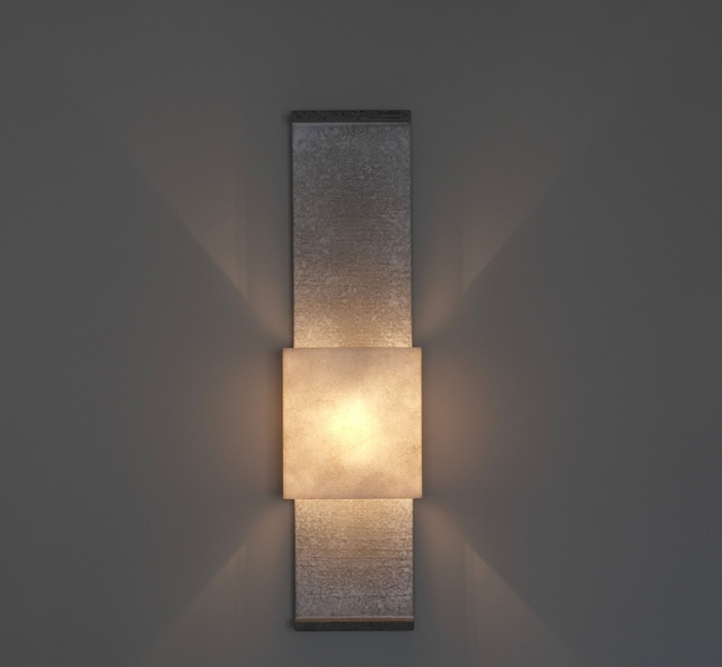Bronze lights patinas hannah woodhouse gorgeous contemporary architectural wall light up and down lighter unusual artisanal wall applique made aloadofball